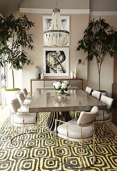Retro Chair And Corset Dining Table Luxury Dining Room, Beautiful Dining  Rooms, Dining Room