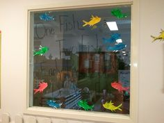 One fish two fish early preschool loves Dr. Seuss fish