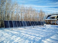 Take a look at our article on off-grid solar power design innovations, and the pros and cons of updating older solar technologies. #solar #offgridsolar #solarcanada #SolarPanels