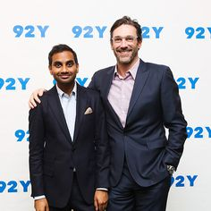 Star Tracks: Wednesday, November 4, 2015 | MASTER OF THE HOUSE  | Aziz Ansari gets some support from Jon Hamm at a screening of his new Netflix series, Master of None, in N.Y.C. on Monday.
