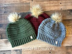 Crochet Winter Hats Free Crochet Pattern | Free Crochet Patterns