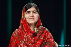 Pin for Later: Can't-Miss Celebrity Pics!  Nobel Peace Prize winner Malala Yousafzai spoke at the Forbes Under 30 Summit at the Convention Center in Philadelphia on Tuesday.