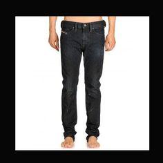 Details about new mens DIESEL THANAZ 0801S urban Pin Low Slim Skinny leg  JEANS size W32 L30 b49b282220