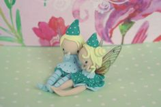 Fairy Couple by TheDollAndThePea on Etsy