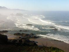 Cannon Beach in spring. Cannon Beach, Beautiful Places, Spring, Water, Outdoor, Gripe Water, Outdoors, Outdoor Games, Aqua