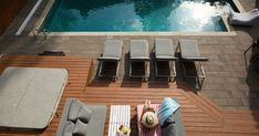 Best Deck Decorating Ideas , If you're decorating a deck, you're on half thing to do! Deck is a the ideal approach to add outdoor living space to your residence and with just a li. Best Deck Stain, Deck Stain Colors, Pool Images, Pool Shock, Decking Material, Pool Picture, Cool Deck, Budget, Sell Your House Fast