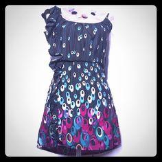 Flirty Ruffled Boutique Dress Nwt