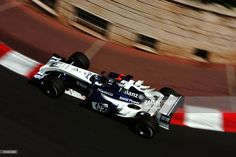 Juan Pablo Montoya of Colombia and BMW.Williams during the Monaco F1 Grand Prix on May 23, 2004, in Monte Carlo, Monaco.