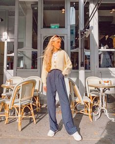 Adrette Outfits, Retro Outfits, Cute Casual Outfits, Winter Outfits, Vintage Outfits, Fashion Outfits, School Outfits, Aesthetic Fashion, Look Fashion