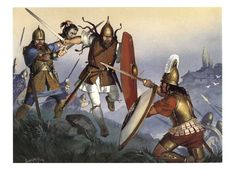 Ancient Celts in Italy - art by Angus McBride