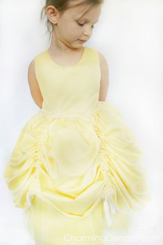 Homemade Princess Belle Costume