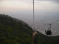 cable car aerial tramway from bursa city center to uludag mountain, turkey, by mytripolog.com