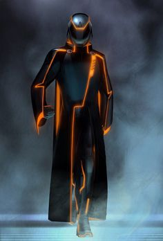 """Concept art of CLU from """"Tron: Legacy"""" (2010)."""