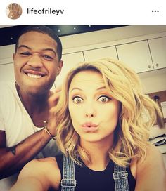 #TO The Originals  I don't know who that is & Riley Voelkel(Freya)