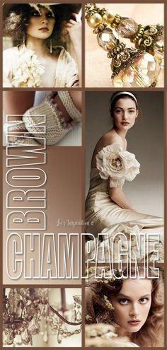 Color Shades, Neutral Colors, One Shoulder Wedding Dress, Wedding Dresses, Brown, Color Boards, Collages, Change, Closet