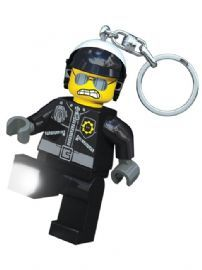 Lego Movie Bad Cop Keylight Keyring