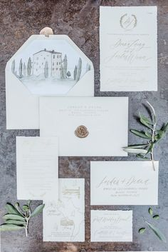 Stationery: Written Word - http://www.stylemepretty.com/portfolio/written-word Photography: Kate Holstein - http://www.stylemepretty.com/portfolio/kate-holstein Read More on SMP: http://www.stylemepretty.com/2015/09/15/italian-destination-wedding-at-castello-di-vicarello/