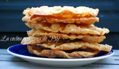 Mexican Food Recipes, Dessert Recipes, Ethnic Recipes, Desserts, Mexican Bunuelos Recipe, Deli, Waffles, Sweet Tooth, Food And Drink