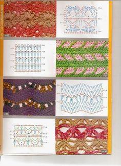 Revista Moda Crochet- Guía practica de puntos 1 - Revistas de manualidades Gratis
