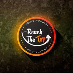 💥💥💥 Reach the Top logo Design