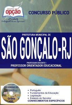 Promoção -  Apostila Concurso São Gonçalo RJ - Vários Cargos  #apostilas Saiba como adquirir a sua http://apostilasdacris.com.br/apostila-concurso-sao-goncalo-rj-varios-cargos/