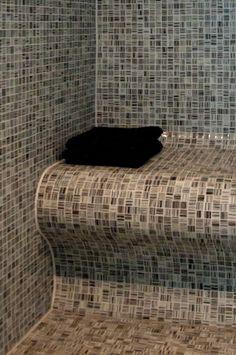 wit mozaiek badkamer - Google zoeken