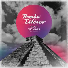 Bomba Estereo weds tropical, cumbia, vallenato, and champeta rhythms to electro, reggae, and pop in a unique form of dance music at The Mayan on Wednesday May 24!