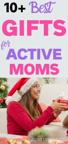 We always want the best gifts for moms because they are special. Here's a gift guide for active mother or moms who live a healthy lifestyle #giftsformom #ChristmasGiftGuide #Holidaygiftguide