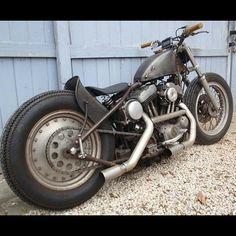 HD Bobber #motorcycles #bobber #motos | caferacerpasion.com