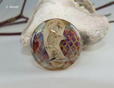 Handgewickelte+Glasperle+-+Linse+mit+Rand+-+von+glasswork+auf+DaWanda.com