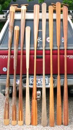 Greenland Paddles: modern use of old proven design