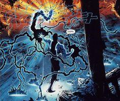 Jefferson Michael Pierce aka Black Lightning, is a teacher and former Olympic Gold Medal-winning athlete. Dc Rebirth, Black Lightning, Dark Matter, Batwoman, Dc Universe, Dc Comics, Vines, African, Marvel