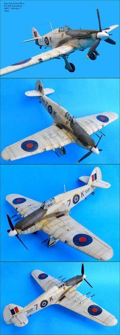 No 835 Squadron Sea Hurricane Mk II