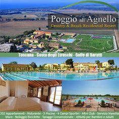 Poggio all'Agnello Country & Beach Residential Resort nel cuore dello splendido Golfo di Baratti in Toscana