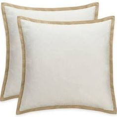 bridge street romano european pillow sham in ivory