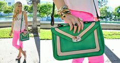 crossbody bag #green