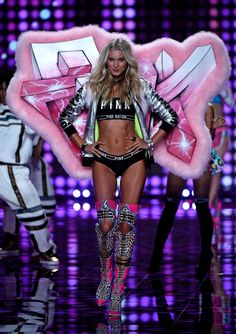 Pin for Later: See Every Jaw-Dropping Look From the Victoria's Secret Fashion Show Victoria's Secret Fashion Show 2014 Elsa Hosk