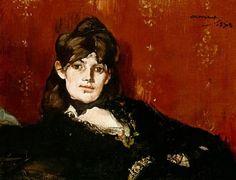 Эдуар Мане. Портрет Берты Моризо1873
