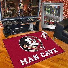 "Florida State Seminoles Man Cave All Star Area Rug Floor Mat 34"" X 45"""