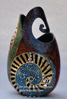 galleria gourds jennifer hershman gourd art