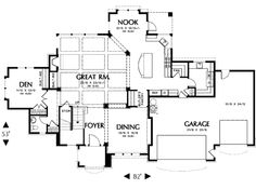 Main floor house blueprint house plans pinterest house nice french country style house blueprint 12 malvernweather Images
