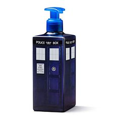 ThinkGeek :: Doctor Who TARDIS Soap Dispenser (Empty of soap, fill will lotion)