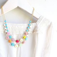 garden necklace~<3K8<3~
