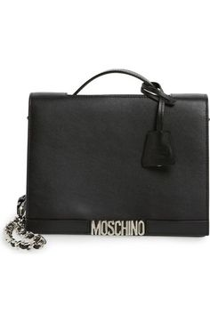 Moschino Top Handle Leather Crossbody Bag available at #Nordstrom