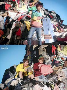 BTS 'Spring Day' MV Shooting Rap Monster & Jin & Jung Kook | 김남준 & 김석진 & 전정국