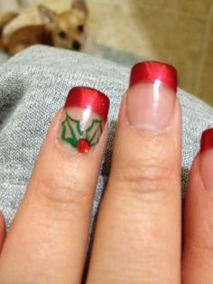 Holiday nails!