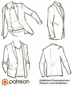 How to Draw a Suit/Jacket; How to Draw Manga/Anime
