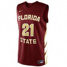 c1e20dace378 Florida State Seminoles Nike Basketball Jersey  fsubasketball Basketball  Games For Kids