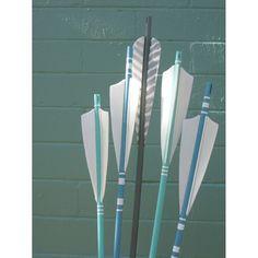 #SeaStyle Seaside Arrows Ocean Decor Sea Green and Ocean by FletcherandFox