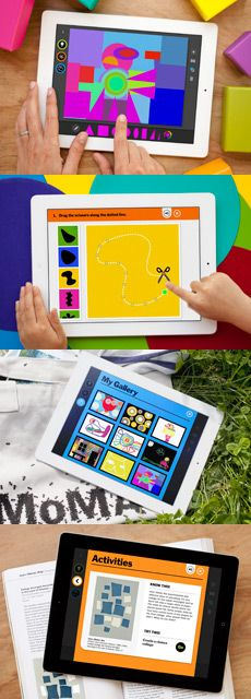 MoMA Art Lab - my kids favorite app. Interactive and teaches different styles of creating art.